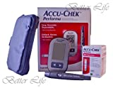 Accu Check Performa Kit Diabetes How to Test Blood Sugar Monitor Accu Chek Akku
