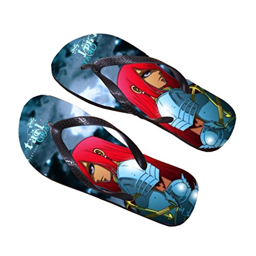 Bromeo Fairy Tail Anime Unisex Flip Flops Zehentrenner Flip Pantoffeln 10