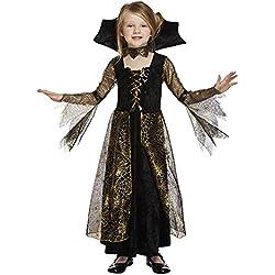 Disfraz de bruja araña para niña. Edad: 4-12 años