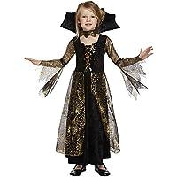 Salveo Girls Spiderella vampiro ragno costume da strega di Halloween  vestito per 4 – 12 anni d83ea28f02d6