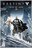 Close Up Destiny Poster Rise of Iron (93x62 cm) gerahmt in: Rahmen Silber matt