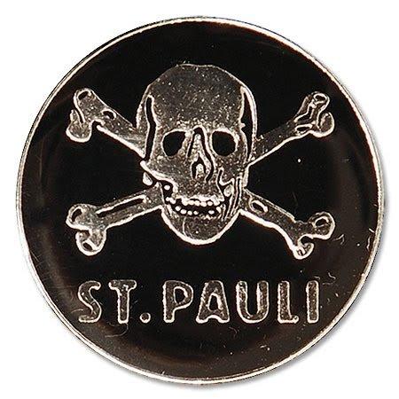 ST. Pauli Pin Logo Teschio