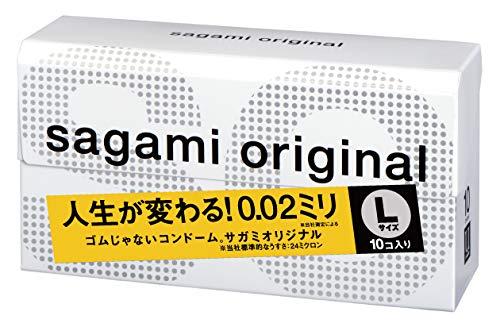 Sagami Original 002 Kondom, 10 Stück (Japan Import)