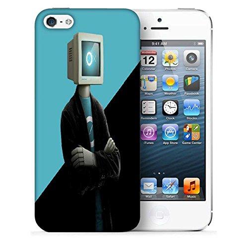 Snoogg-Monitor-Hauptmann 2880 Designer Protective Fall-Abdeckung für Apple iPhone 5