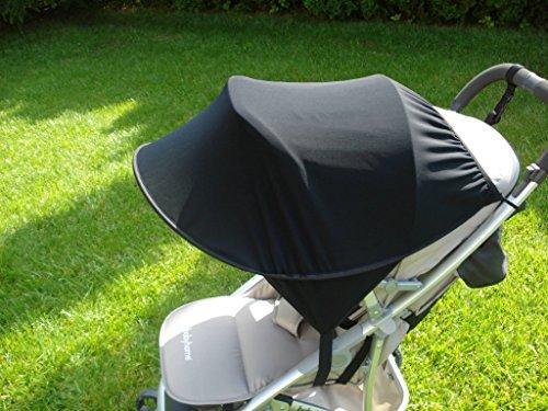 Universal Sonnenschutz, Sonnensegel für Kinderwagen, Sonnendach, Sonnenschirm Farbe 37E
