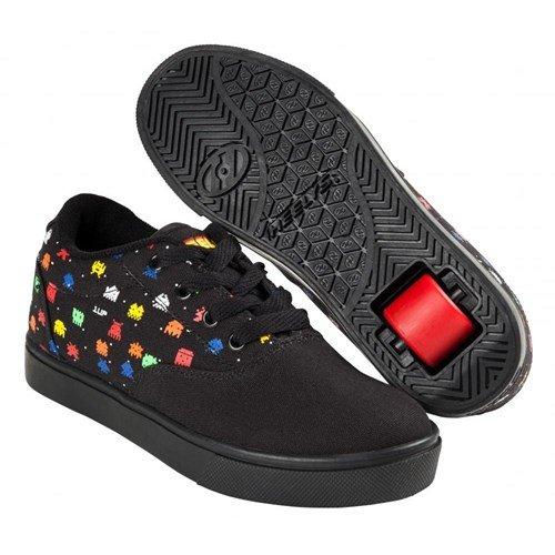 Heelys Launch, Sneakers Basses Garçon Black/Droids