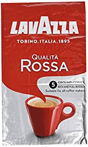 Lavazza Qualita Rossa Roast and Ground Coffee 500 g (Pack of 2)