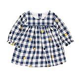Absorba Boutique Bleu Banquise Lf, Vestido para Bebés, Blau (Bleu Nuit 48), 3-6 Meses
