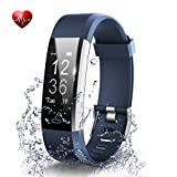 OMNiX ID115 Plus HR Smart Wristband Heart Rate Monitor with 0.96 Inch OLED