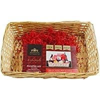 Gift Set Hamper by Kensington Giftware Co ? Includes cream wooden hamper, film wrap and ribbon