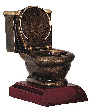 Toiletten Schüssel Trophy / Toilet Bowl / Letzter Platz / Last Place
