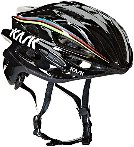 Kask, Casco da ciclismo Mojito, Nero (Black Iride), L