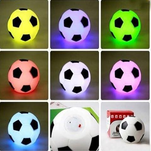 Bluelover Farbe wechselnden LED Fußball Licht Mood Nacht Lampe Party Dekoration neu