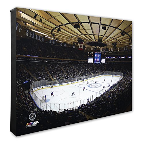 Photo File NHL Boston Bruins TD Garden Hockey Arena Leinwandbild, Unisex, NHL Hockey Arena Canvas, 16