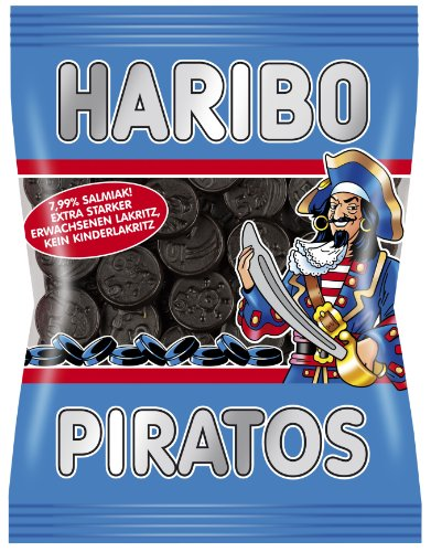 Haribo Piratos, 5er Pack (5 x 200 g Packung)