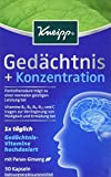Kneipp Gedächtnis + Konzentration, 30 Kapseln, 2er Pack (2 x 14.9 g)
