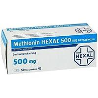 Methionin Hexal 500 mg, 50 St. Tabletten preisvergleich bei billige-tabletten.eu