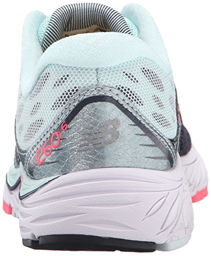 New Balance Women's 1260v6 Running Shoe, Pink/White, 10 2A US Grigio