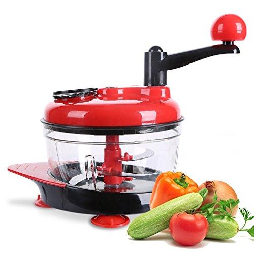 CUHAWUDBA Multifunktions Kuechenmaschine Kueche Manuelle Gemuese Chopper Cutter Mixer Salat Maker Eier Ruehrer Kueche Kochen Werkzeuge