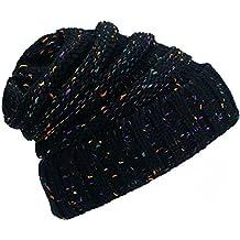 iParaAiluRy Mujer Gorros - Calentar Gorro de Punto de Invierno para Mujer -  Slouch Flexible Sombreros 18b30a26ea9