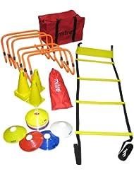 Kit de entrenamiento de agilidad y velocidad Mitre