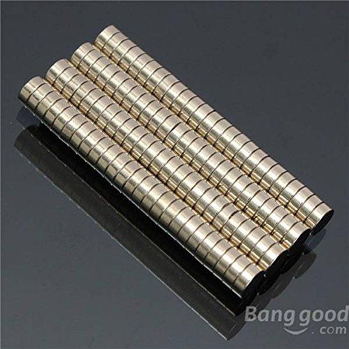 mark8shop 100pcs 5mmx2mm N52fuerte imanes redondos imanes de neodimio de tierras raras de neodimio