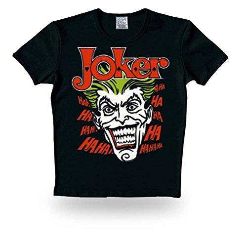Preisvergleich Produktbild Batman - Joker Logoshirt T-Shirt Black,  S