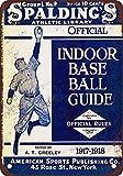 BDTS 1917 Spalding Guía de béisbol, diseño clásico de reproducció Tin Sign 7.8inch*11.8inch