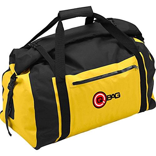 QBag Hecktasche/Gepäckrolle wasserdicht 04 bis 65 Liter gelb/s