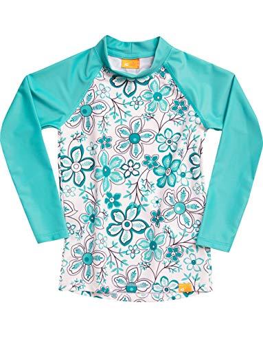 iQ-UV Mädchen Strand und Meer Langarm Schwimmen Shirt, Carib, 104