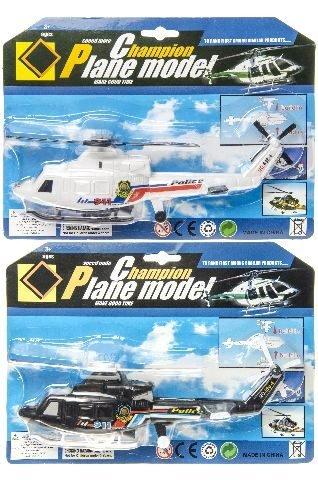 2 Stück Hubschrauber Aufziehen Spielzeug Helikopter aufziehbar 22 cm by schenkfix