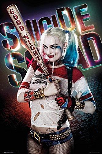 uad Maxi Poster Harley Quinn Good Night 61x91,5 cm (Harley Quinn Zimmer Dekor)