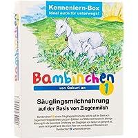 Bambinchen 1, Säuglingsmilchnahrung, von Geburt an, Kennenlernbox, 78g für 3 x 200ml fertige Anfangsmilch