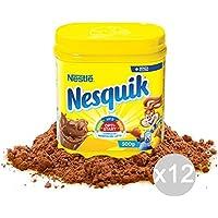 Set 12 NESQUIK Jar 500 Gr Para El Desayuno Y Merienda