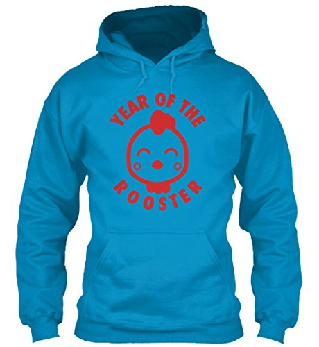 teespring Men's Novelty Slogan Hoodie - Adult Year of The Rooster Lunar New Year