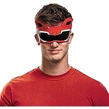 Antifaz de Power Ranger Mighty Morphin rojo para adulto