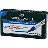 Faber-Castell Whiteboard Marker - Pack of 10 (Blue)