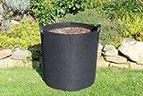 100litri–Ø50x 50cm–Sacco per piante con manici Borsa per piante vasi sopraelevata Fiore Sack