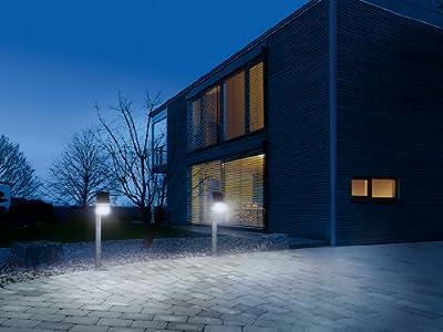 Steinel Solarleuchte X Solar mit GL-S Senor-Garten-Leuchte, 1,2 W-LED-Lichtsystem und 150 lm, Integriert