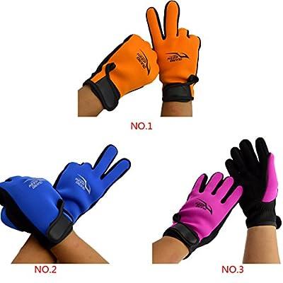 Vollter Handschuhe Premium-Adult Neopren 3mm Anti-Rutsch-Schnorcheln Schwimmen Surfen Handschuhe