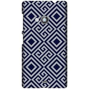 Nokia Lumia 535 Hard Plastic Back Cover - Multicolor Designer Cases Cover By Printland