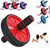 Best Ab Wheels - Xn8 Abs Abdominal Red Exercise Wheel Body Strength Review