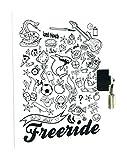 Avenue Mandarine Tagebuch für Jungen Freeride