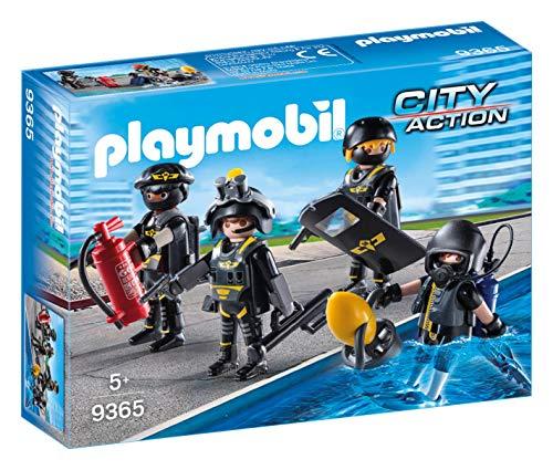 Playmobil- Equipo Las Fuerzas Especiales Juguete