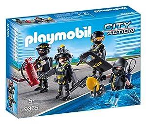 Playmobil- Equipo de Las Fuerzas Especiales Juguete, Multicolor (geobra Brandstätter 9365)