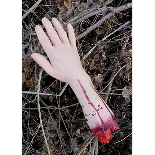 Halloween Requisiten Körperteile - Monthyue Halloween Lebensgroße Arm Hand/Fuß Haunted