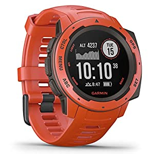 Garmin Instinct Esports, GPS-Smartwatch mit spezieller E-Sports-App, Live-Streaming von Puls und Stresslevel in das…