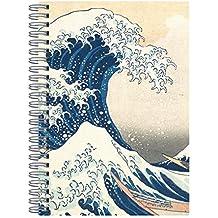 Hokusai Great Wave: Wire-O Journal