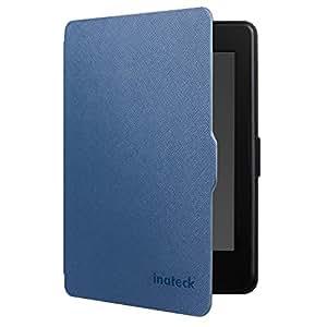 Inateck Kindle Paperwhite Hülle Case für Amazon alle neue Kindle Paperwhite 2015 300 PPI 3.Generation/2014/2013/2012, mit Auto Sleep Wake Funktion, Blau