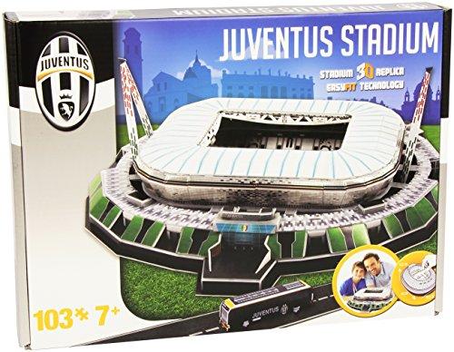 Giochi Preziosi - Nanostad, 3D Stadium Puzzle Juventus Stadium